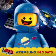 The LEGO Movie Benny 3