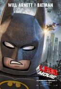 The LEGO Movie Poster Batman