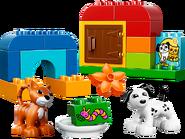 10570 Boîte de briques et d'animaux