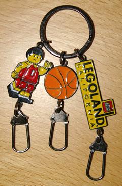 Basketballlegolandkeychain