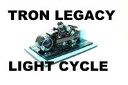 Ideas Projet Tron Legacy Light Cycle