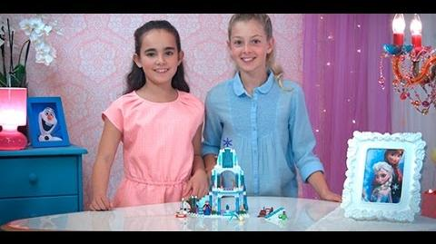LEGO Disney Princess - Create & Rebuild Elsa's Sparkling Ice Castle