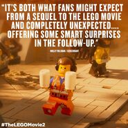 TheLegoMovie2 CriticSaying