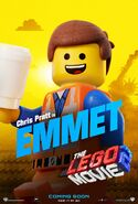The LEGO Movie 2 Poster Emmet