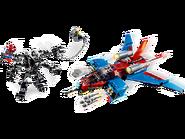 76150 Le Spider-jet contre le robot de Venom 2
