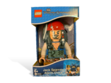 5000144 Pirates of the Caribbean Jack Sparrow Minifigure Clock