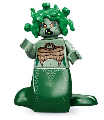 LEGO NEW DARK GREEN ZOMBIE CHEERLEADER MINIFIGURE TORSO PIECE
