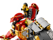 71720 Le Robot de feu et de pierre 5