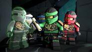Ninjas-Coup monté