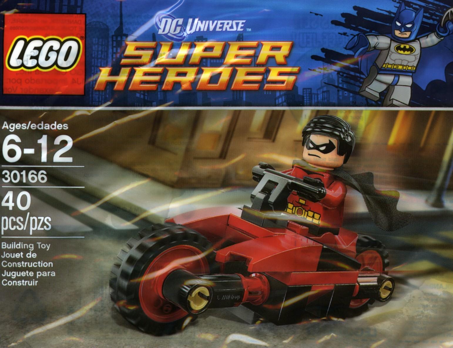 Poly Bag Set LEGO 30166 NEW Robin/'s Redbird Cycle /& Iron Man Drone 30167