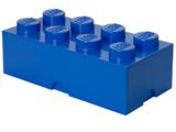 5001266 Brique de rangement bleue 8 tenons