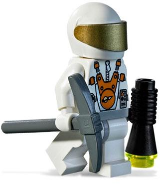 Lego Mars Mission Minifigure ALIEN 7647 7692