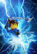 The LEGO Ninjago Movie Poster Jay