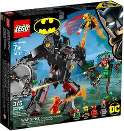 76117 Batman Mech vs Poison Ivy Mech Box