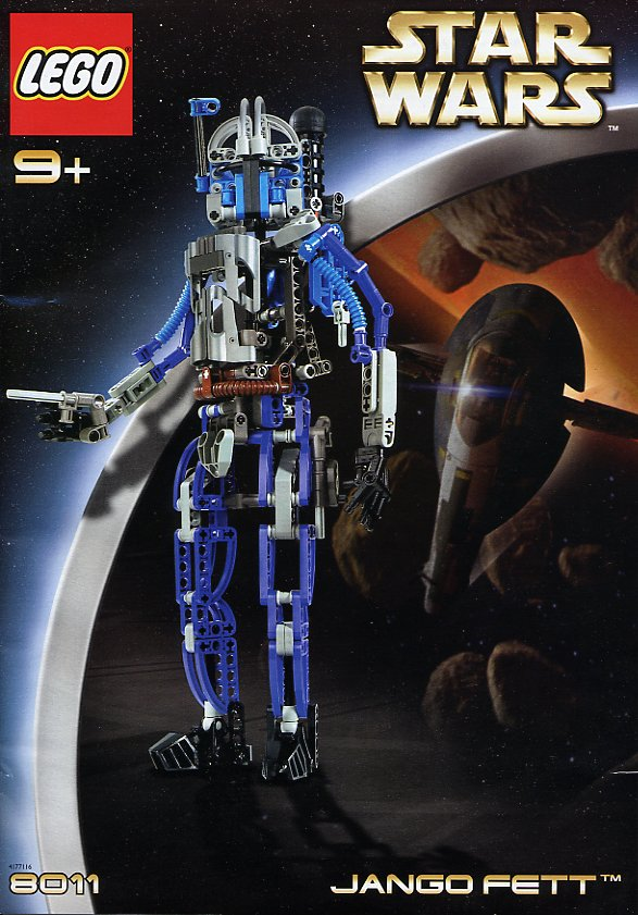 Jango Fett Lego Star Wars Episode Ii Attack Of The Clones 8011 Building Toys Building Sets