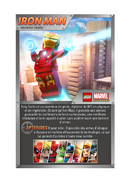 Carte Iron Man