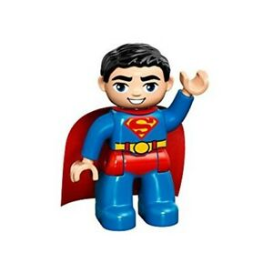 *NEW* Lego Superman Red Cape Heat Vision Eyes Fig Minifigure Figure x 1