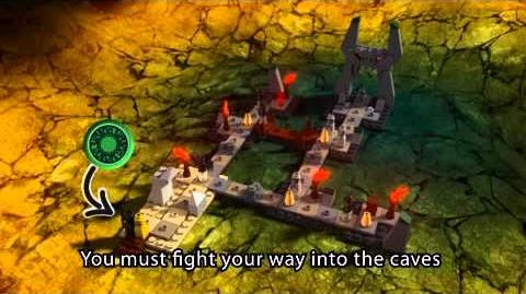 LEGO HEROICA - Introduction Caverns of Nathuz Board Game