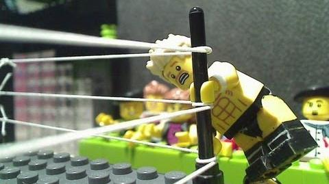 Matt Cross - Flagpole Press (Lego - Wrestling - Animation)
