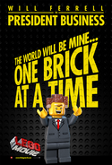 The LEGO Movie Poster President Business