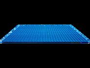 10714 La plaque de base bleue