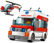 60204LEGOCityHospitalVehicles