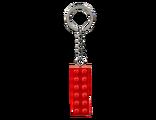 853960 Porte-clés Brique rouge 2x6