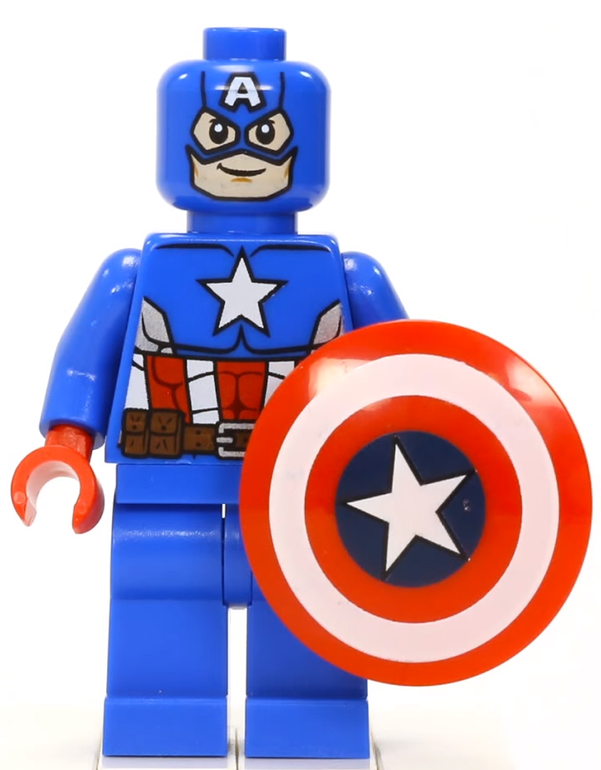 Captain america brickipedia fandom powered by wikia - Lego capitaine america ...
