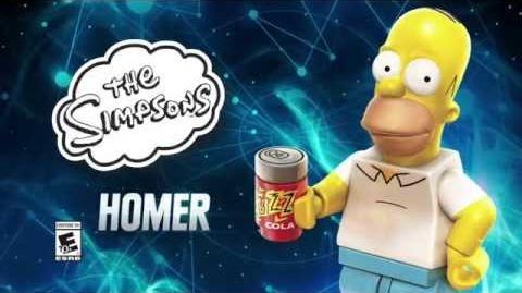Character Spotlight Homer Simpson LEGO Dimensions