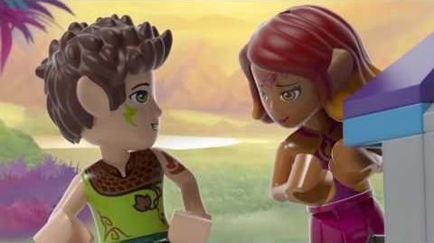 Magic Rescue from the Goblin Village - LEGO Elves - Product Animation 41185