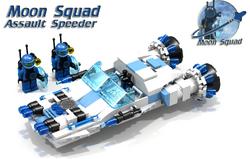 Moon Squad Assault Speeder Cover