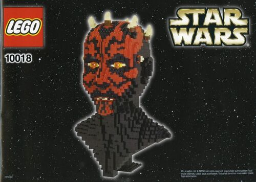 10018 Darth Maul Bust Lego Star Wars