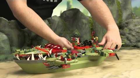 LEGO Legends of Chima - Cragger's Command Ship 70006