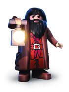 Rubeus Hagrid Années 1 à 4