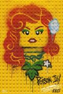 The LEGO Batman Movie Poster graffiti Poison Ivy