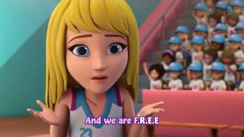 "L2M - ""B.E.A.T."" LEGO Friends Lyric Video"