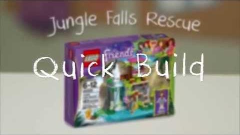 LEGO Building with Friends - Jungle Falls Rescue Quick Build