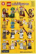 LEGO Minifigures Series 10 checklist