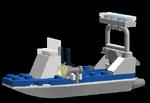 Mini Police Boat