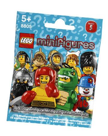 Lego Minifigures series 5 detective Hat 8805