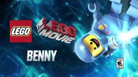 Character Spotlight Benny LEGO Dimensions