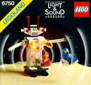6750 Light & Sound Sonic Robot