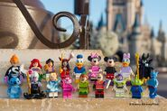 71012 Disney Minifigures Series b