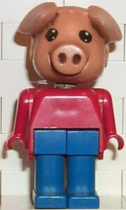 Fabuland Figure Pig 3