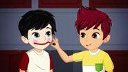 Izzy et Cole maquillage-Les petits farceurs