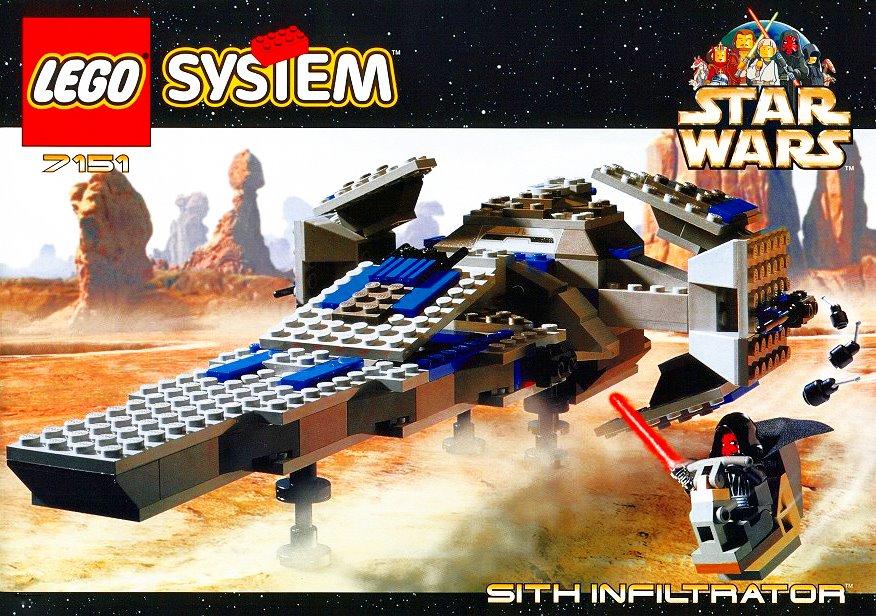 7151 Sith Infiltrator | Brickipedia | FANDOM powered by Wikia
