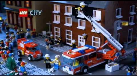 LEGO CITY Thème Pompier