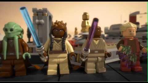 LEGO STAR WARS - Palpatine's Arrest 9526