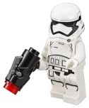 First Order Stormtrooper with Stud Shooter
