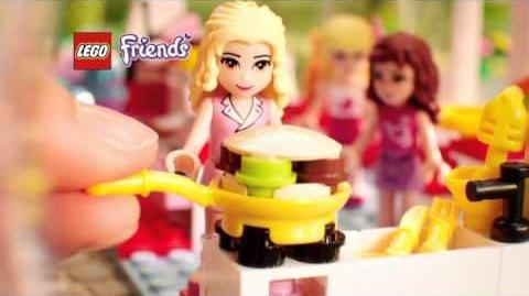 Lego Friends Le café 3061